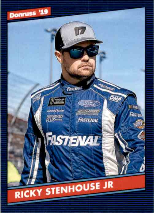 2019 Donruss Ricky Stenhouse JR. #125 card front image
