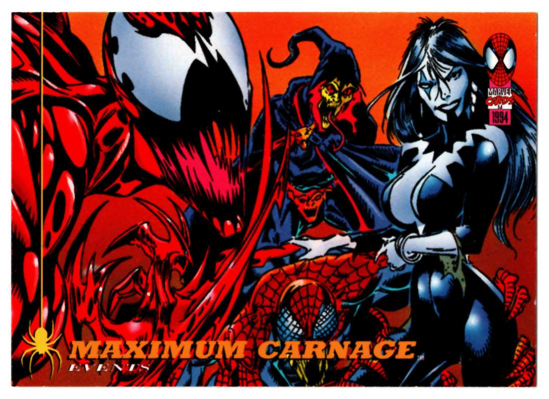 1994 Amazing Spider-Man Maximum Carnage #133 card front image