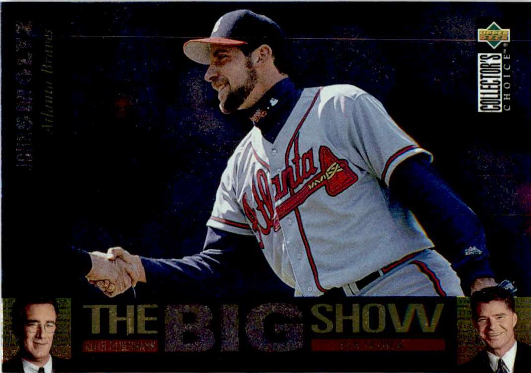 1997 Upper Deck Collector's Choice John Smoltz #4/45 card front image