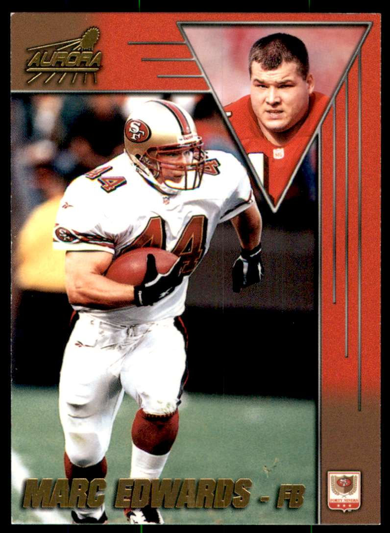 1998 Aurora Marc Edwards #163 card front image