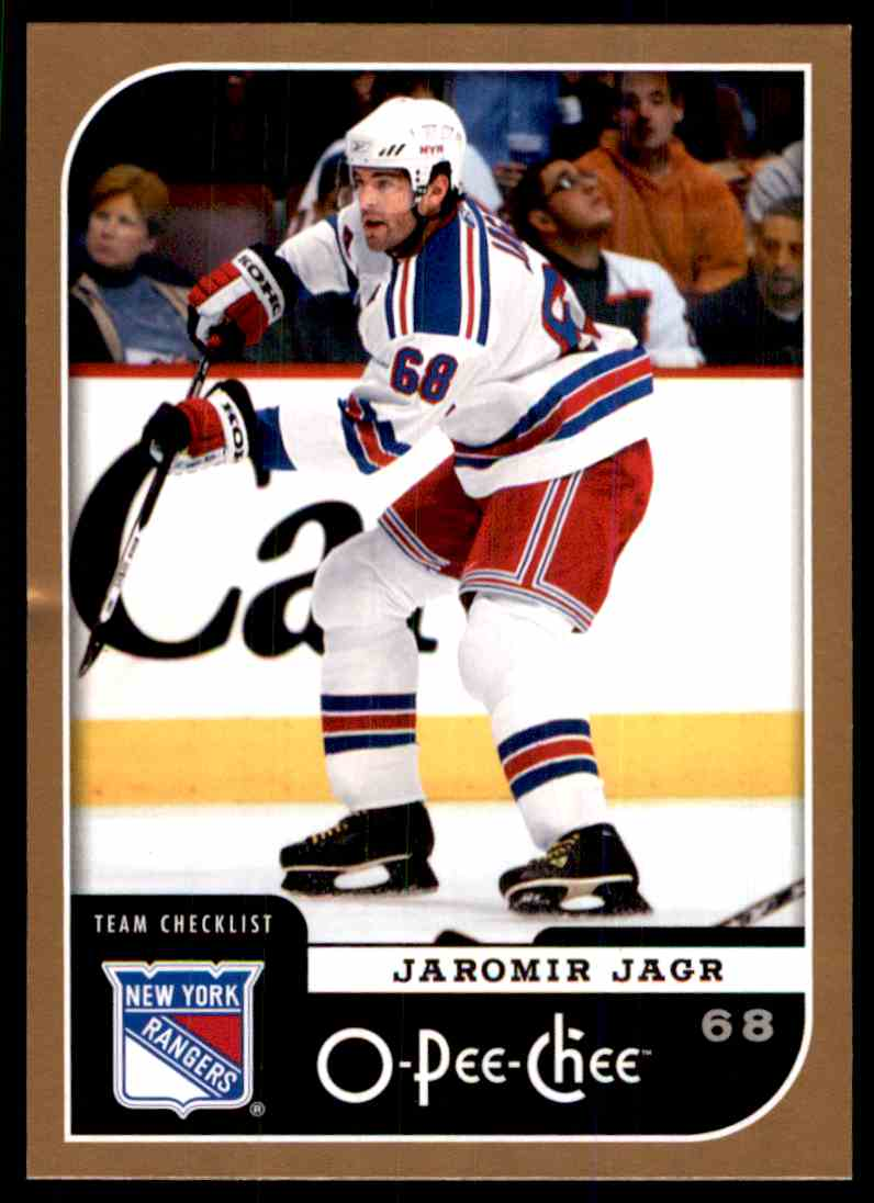 2006-07 O-Pee-Chee Jaromir Jagr #690 card front image