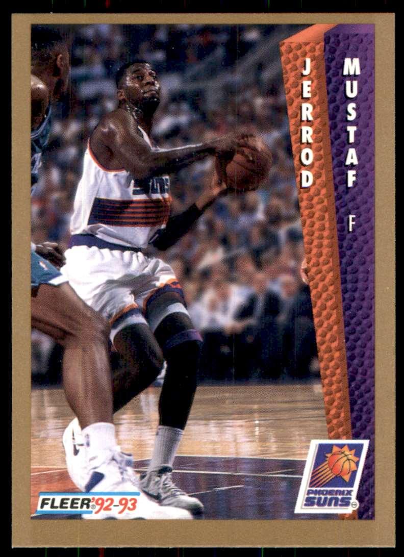 1992-93 Fleer Jerrod Mustaf #414 card front image