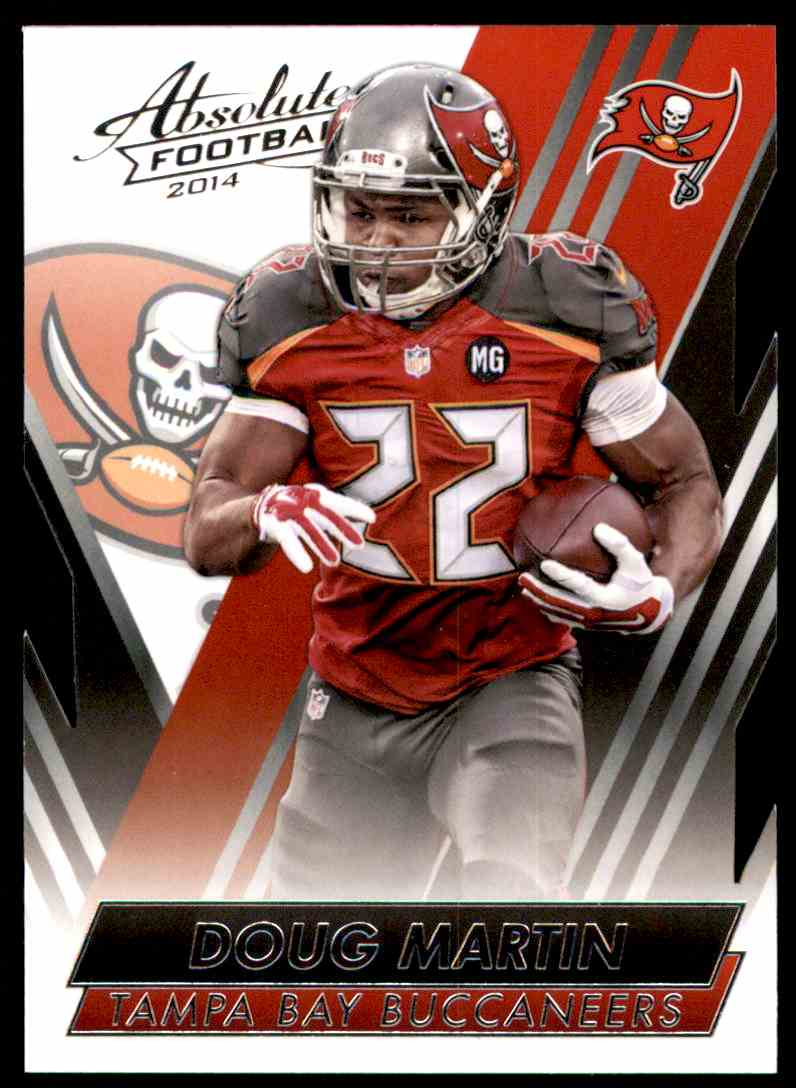 2014 Absolute Retail Doug Martin #41 card front image