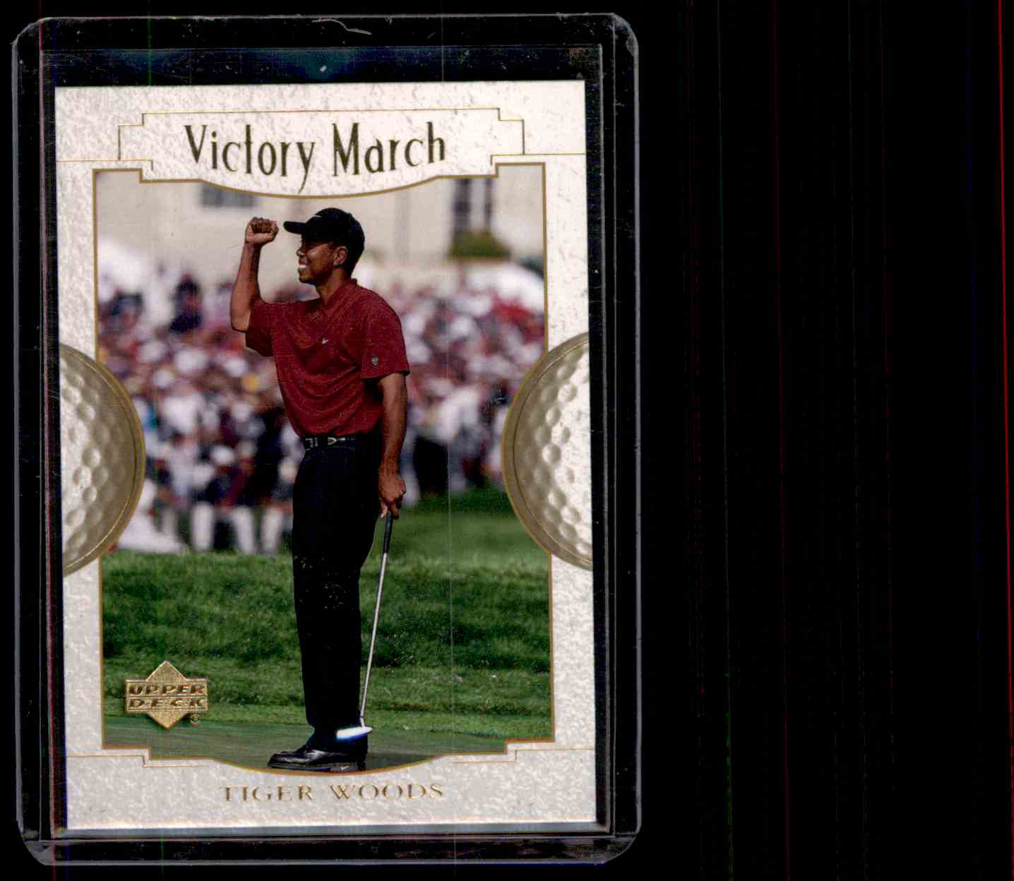 2001 Upper Deck Tiger Woods #151 card front image