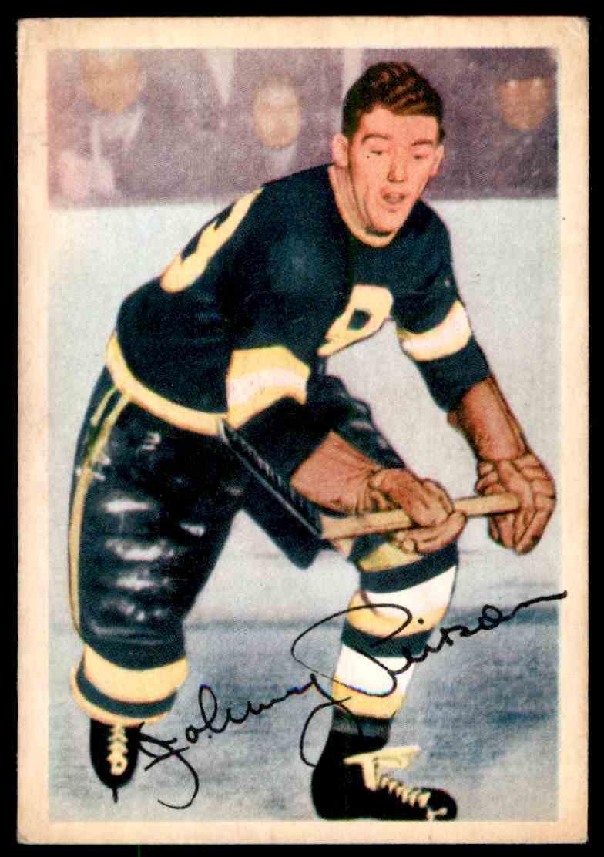 1953-54 Parkhurst John Pierson #88 (02) card front image