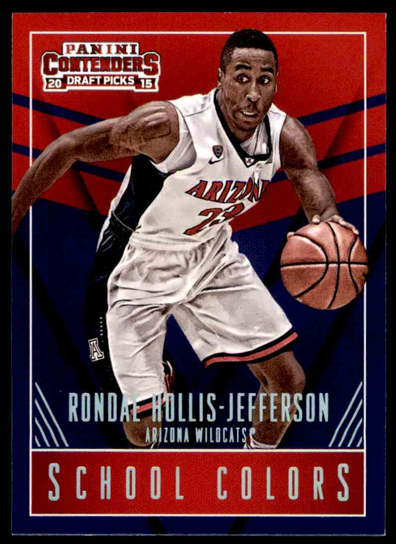 2015-16 Panini Contenders Draft Picks Ronde Hollis-Jefferson #40 card front image