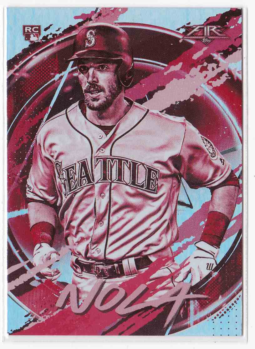 2020 Topps Fire Austin Nola #112 card front image