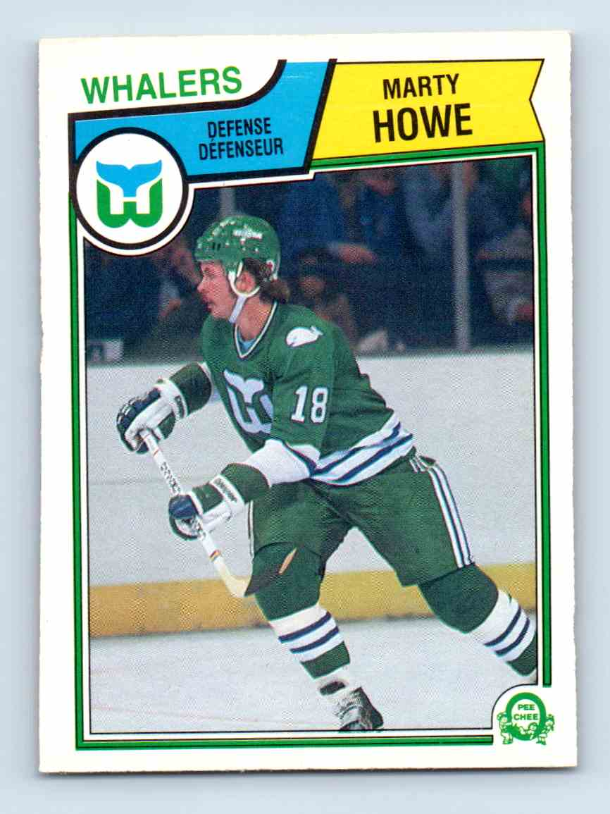 1983-84 O-Pee-Chee Marty Howe #139 card front image