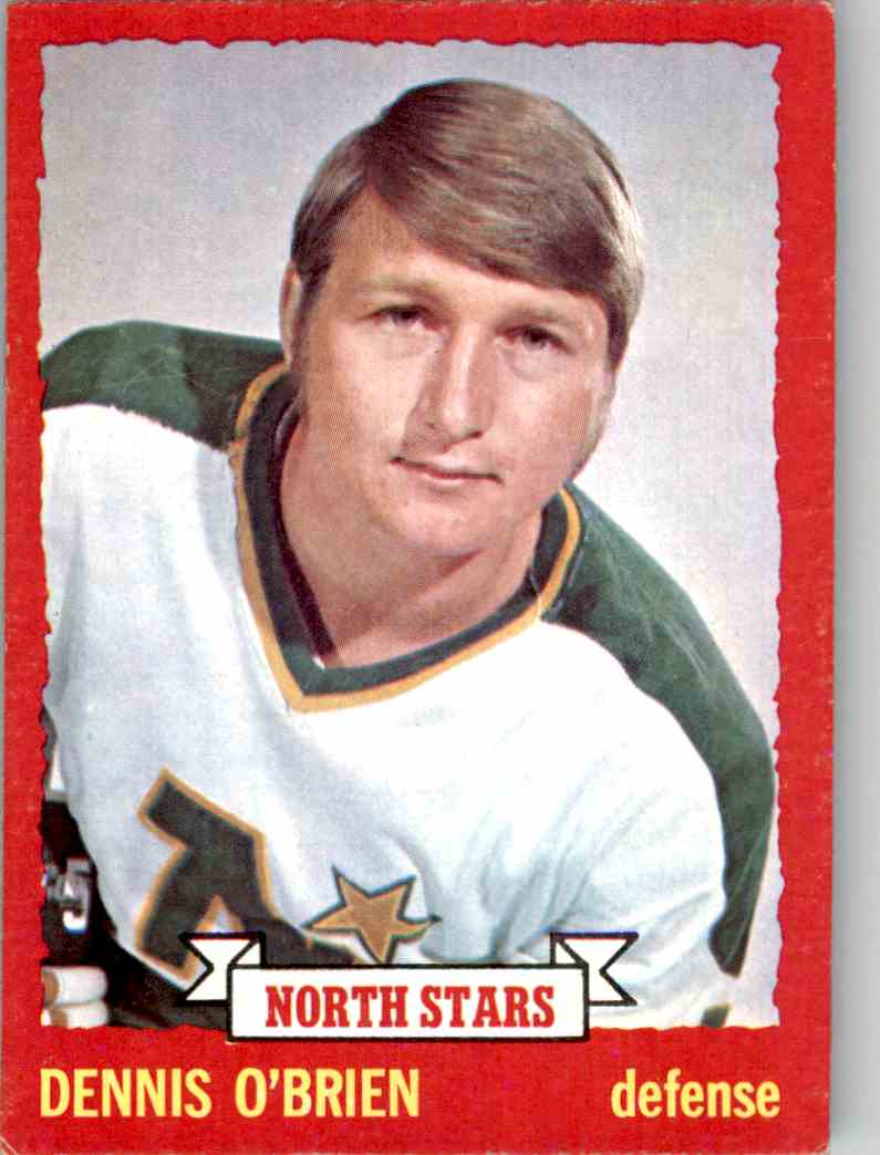 1973-74 O-Pee-Chee Dennis O'Brien #88 card front image