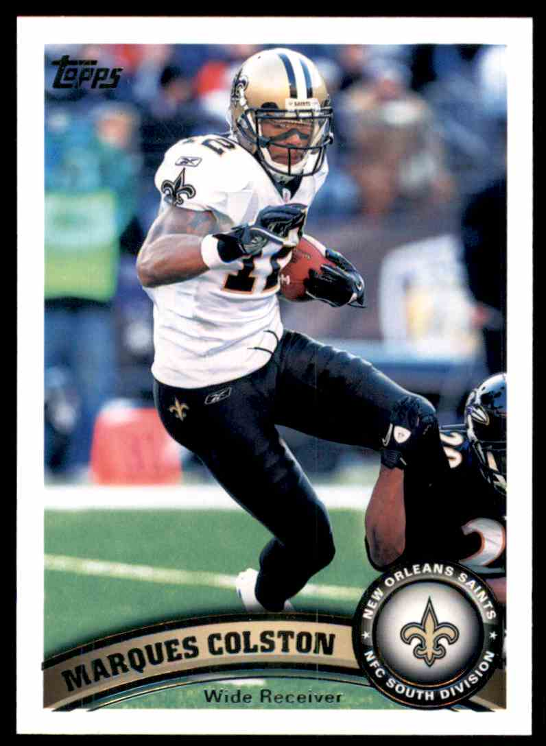 2011 Topps Marques Colston #405 card front image