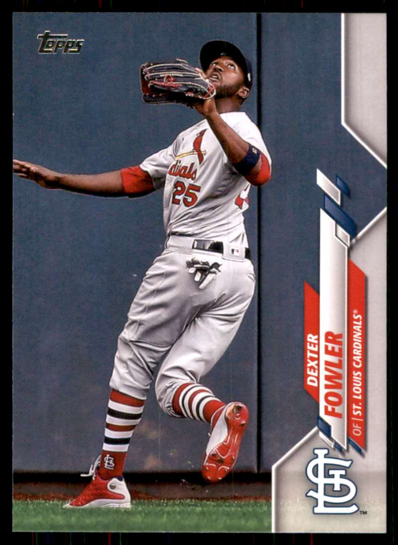 2020 Topps Dexter Fowler #479 card front image