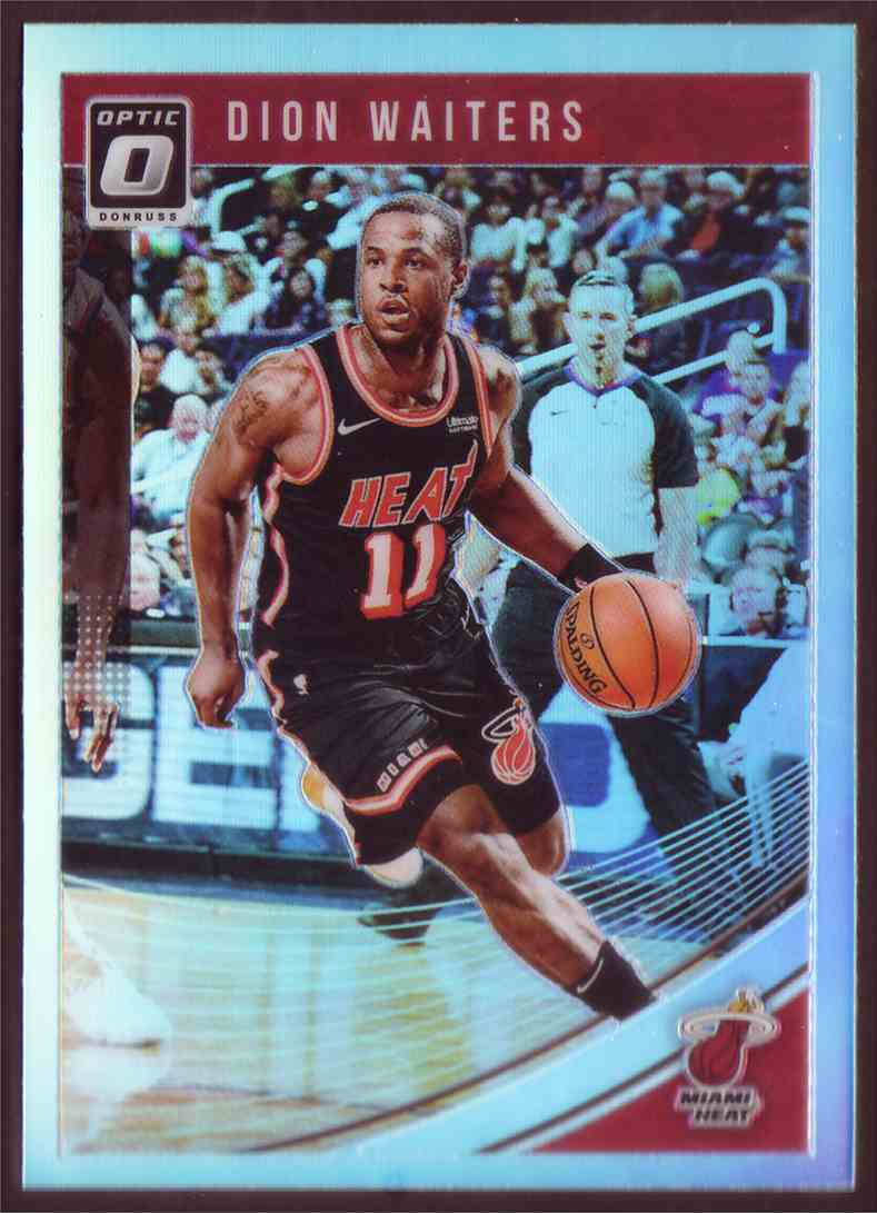 2018-19 Donruss Optic Prizm Holo Dion Waiters #35 card front image