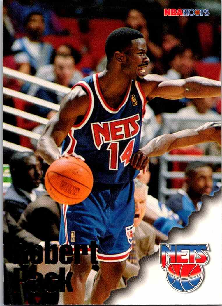 1997-98 NBA Hoops Robert Pack #225 card front image