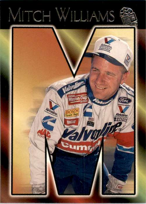 1998 Press Pass Mitch Williams #76 card front image