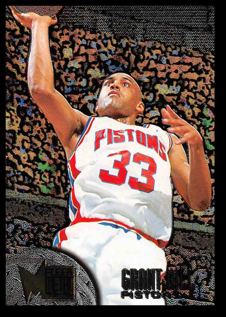 1995-96 Fleer Fleer Metal Grant Hill #29 card front image