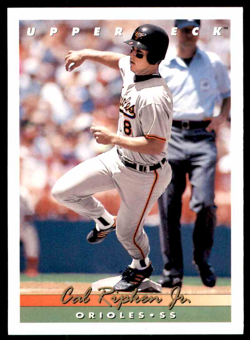 1993 Upper Deck Cal Ripken JR. #585 card front image