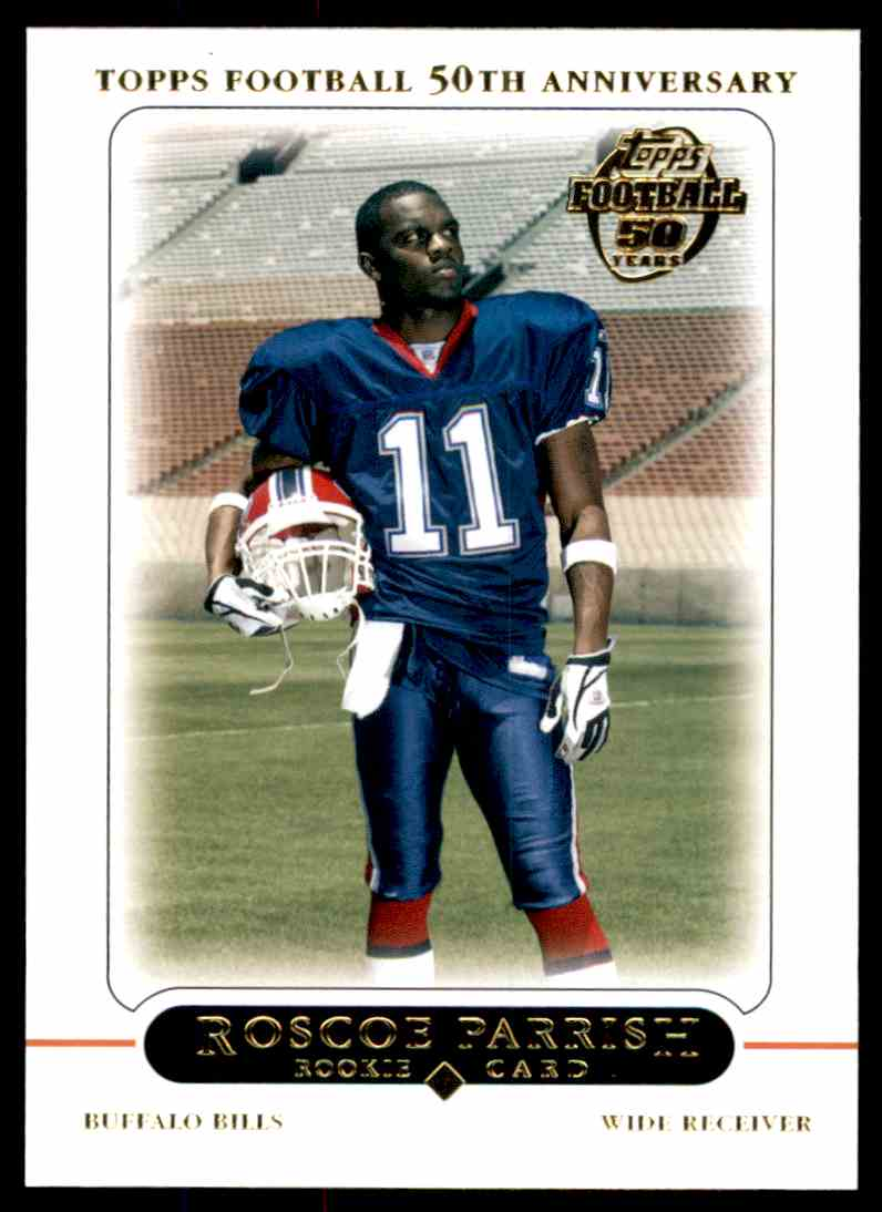 2005 Topps Roscoe Parrish #429 card front image