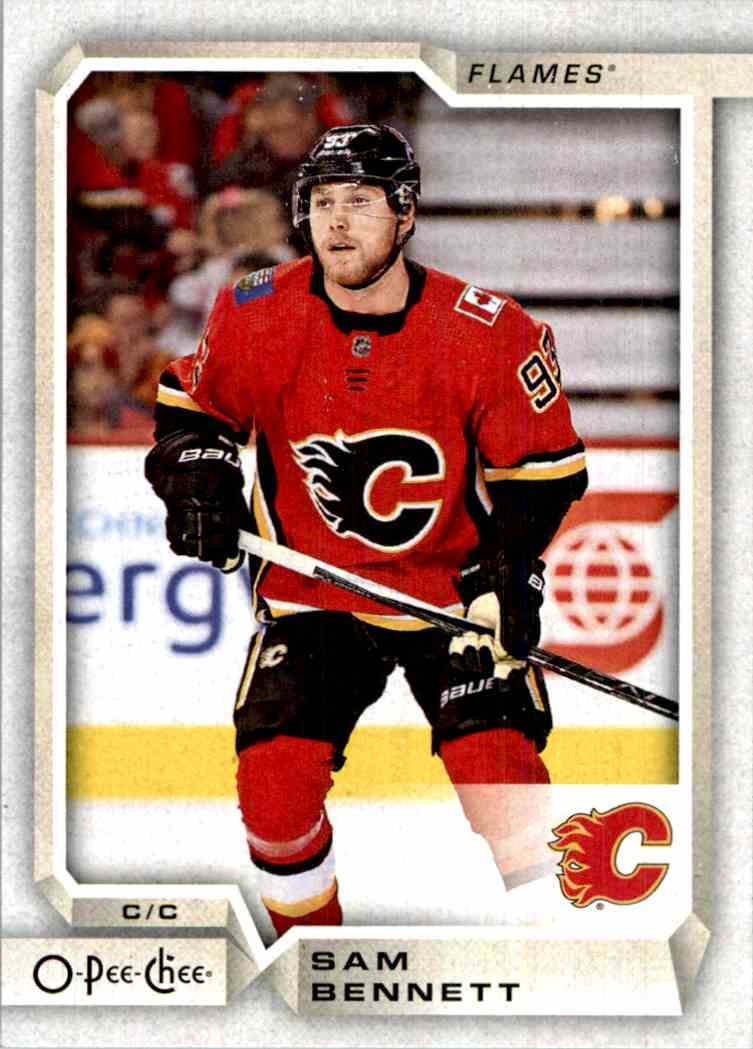 2018-19 O-Pee-Chee Sam Bennett #239 card front image