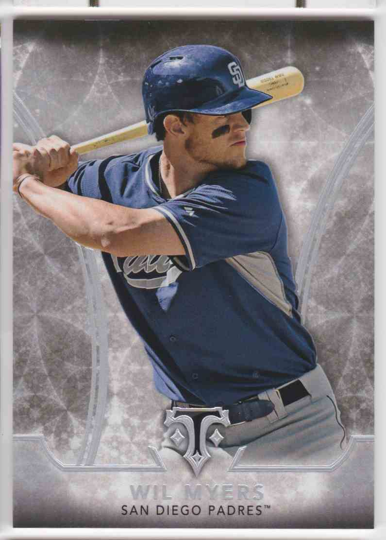 2015 Topps Triple Threads Wil Myers #71 card front image