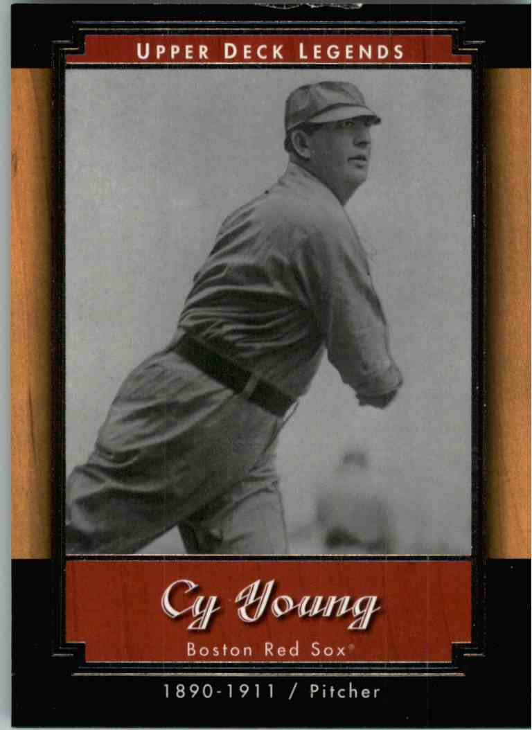 2001 Upper Deck Legends Cy Young #24 card front image