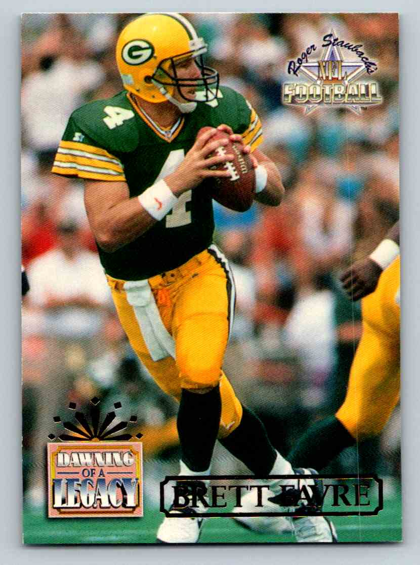 1994 Ted Williams Dawning Of A Legacy Brett Favre #83 card front image