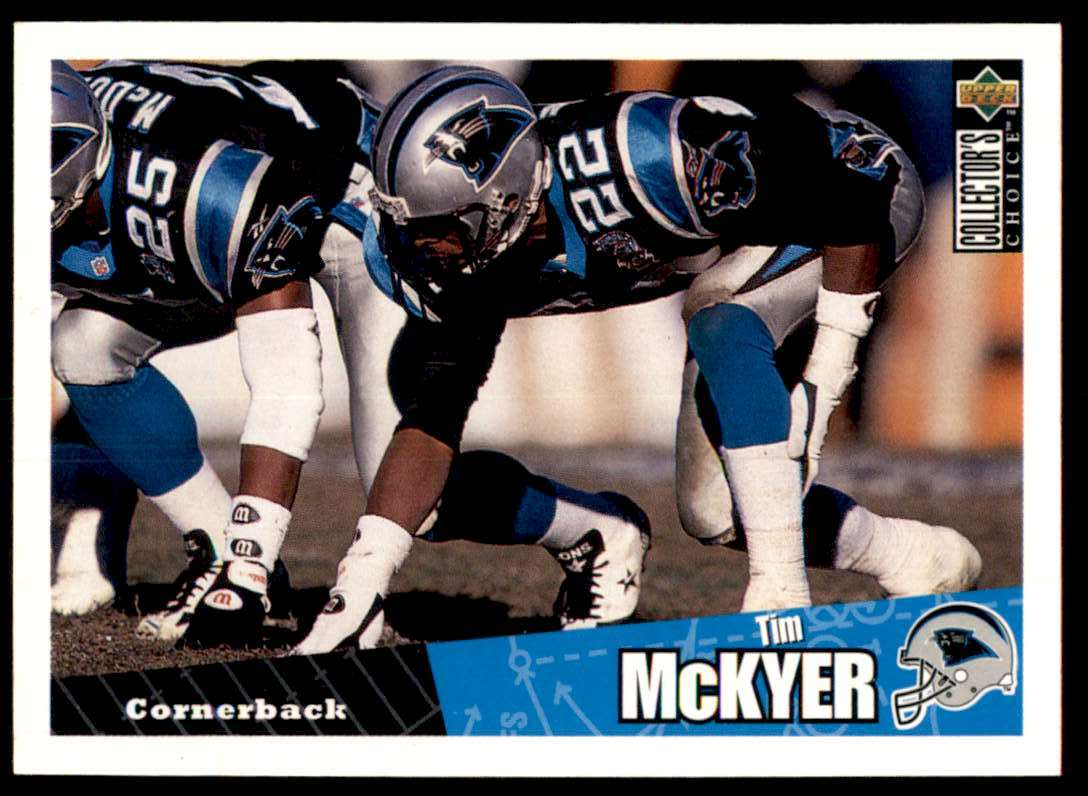 1996 Collector's Choice Tim McKyer #171 card front image