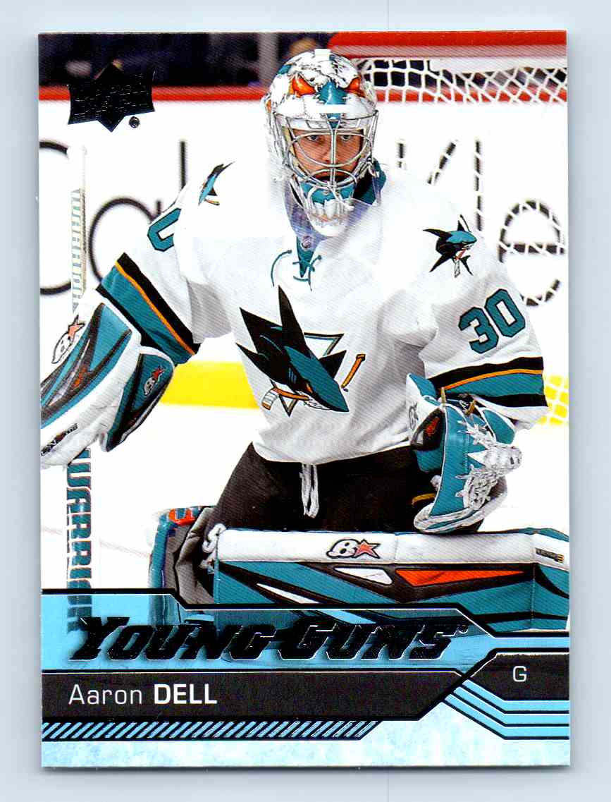 2016-17 Upper Deck Young Guns Aaron Dell #478 card front image