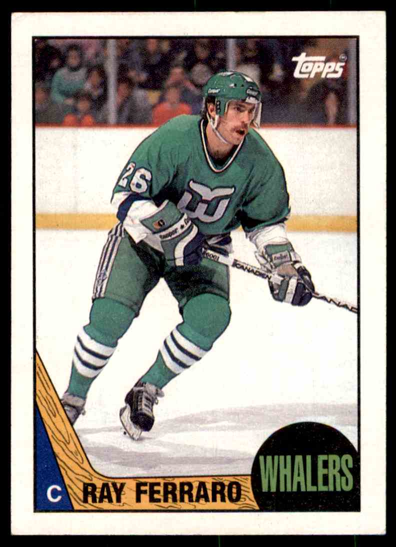 1986-87 Topps NHL Ray Ferraro #109 card front image