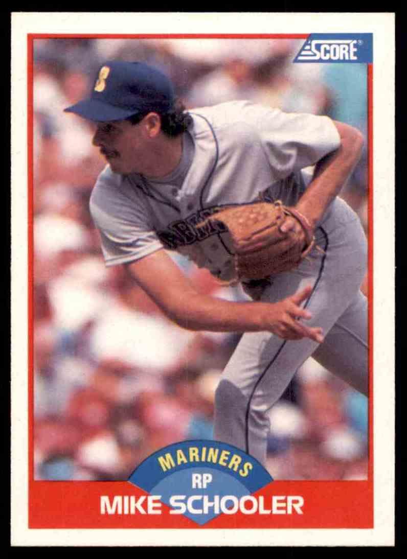 1989 Score Regular Mike Schooler #528 card front image