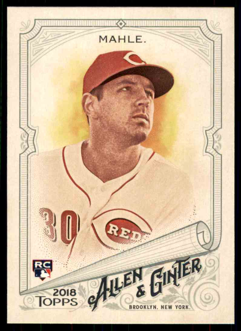 2018 Topps Allen & Ginter Tyler Mahle #196 card front image
