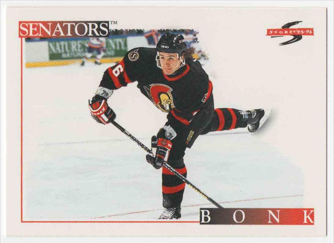 1995-96 Score Radek Bonk #190 card front image