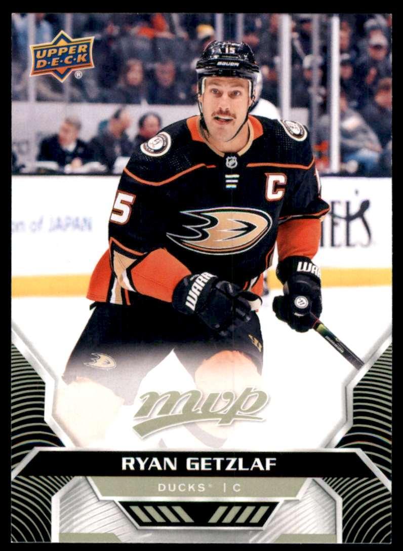 2020-21 Upper Deck MVP Ryan Getzlaf #36 card front image