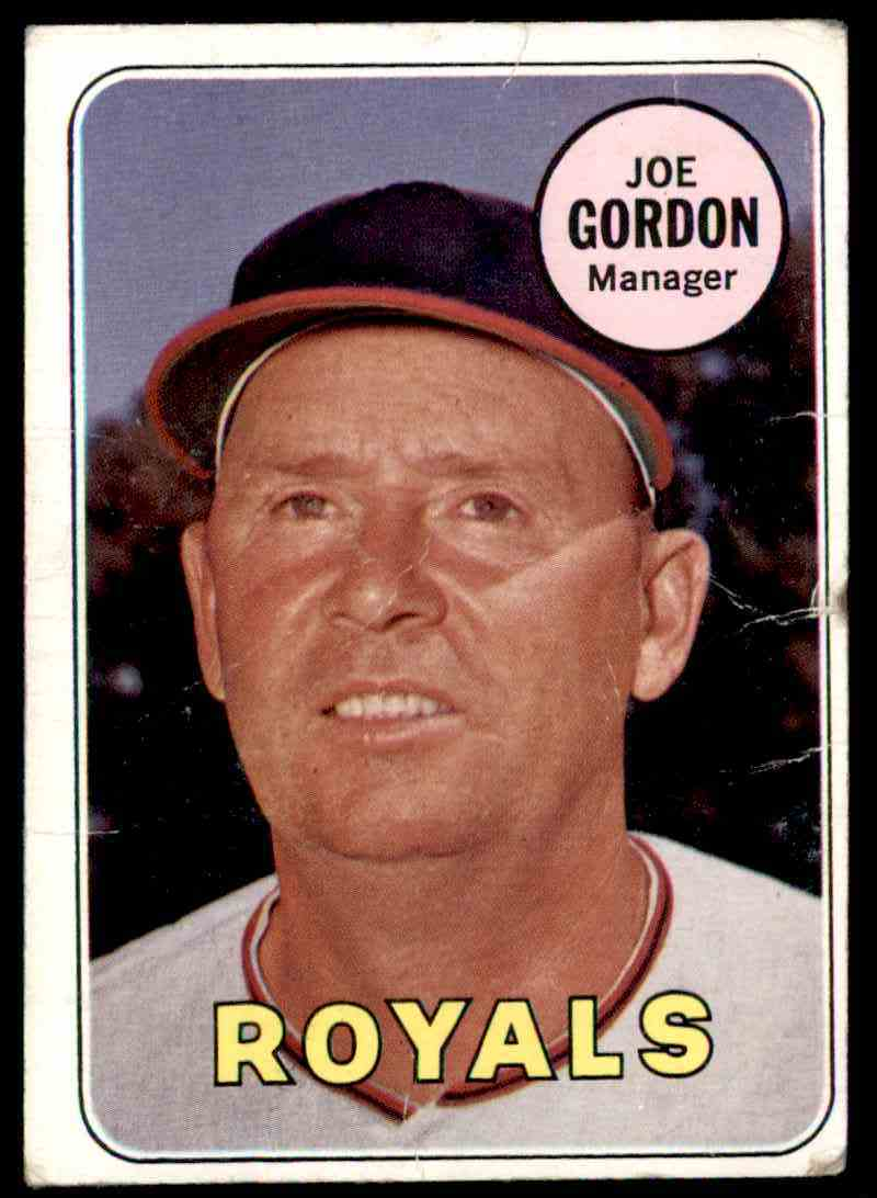 1969 Topps Joe Gordon (Card Mashed) #484 card front image