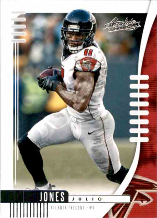 2019 Absolute Retail Julio Jones #80 card front image