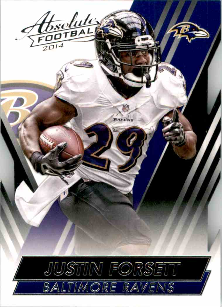 2014 Absolute Retail Justin Forsett #35 card front image