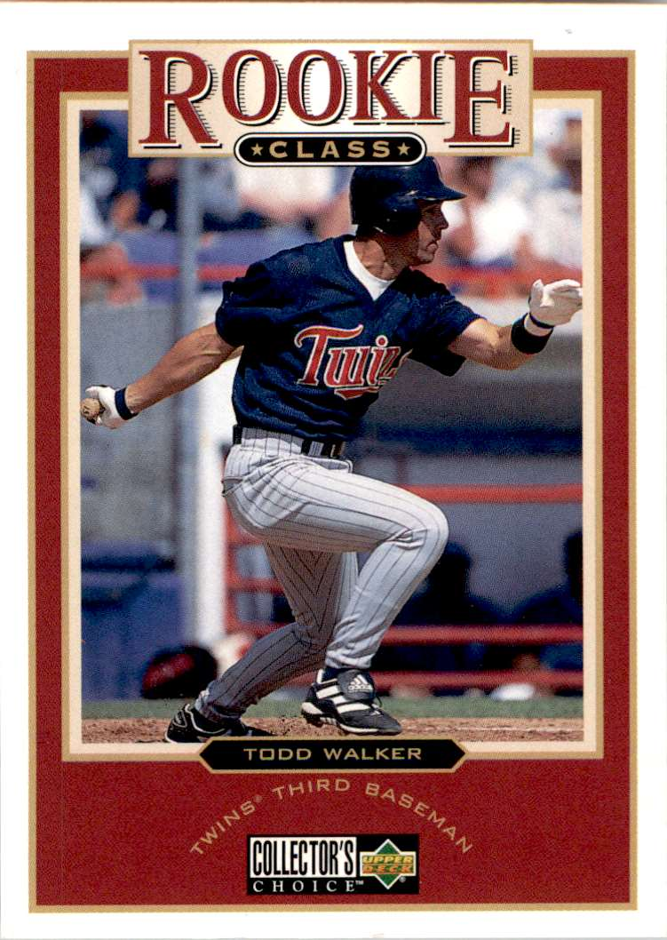 1997 Upper Deck Collector's Choice Todd Walker #20 card front image