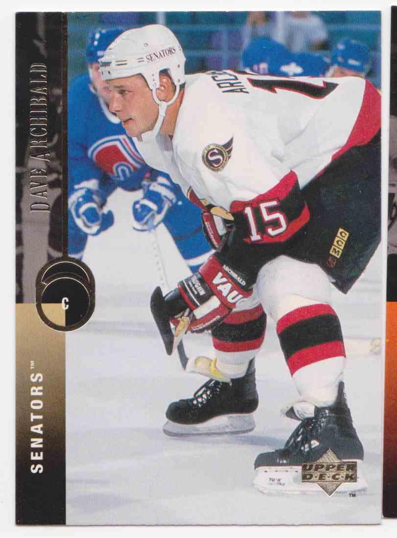 1994-95 Upper Deck Dave Archibald #383 card front image