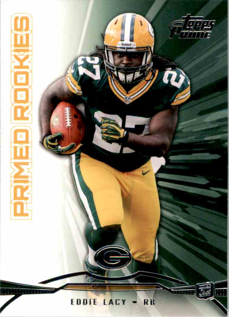 2013 Topps Prime Primed Rookies Eddie Lacy #PREL card front image