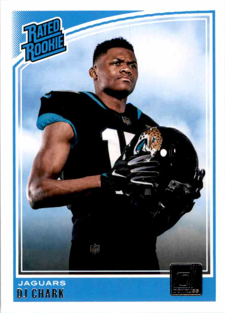 2018 Donruss Rated Rookie Dj Chark #315 card front image