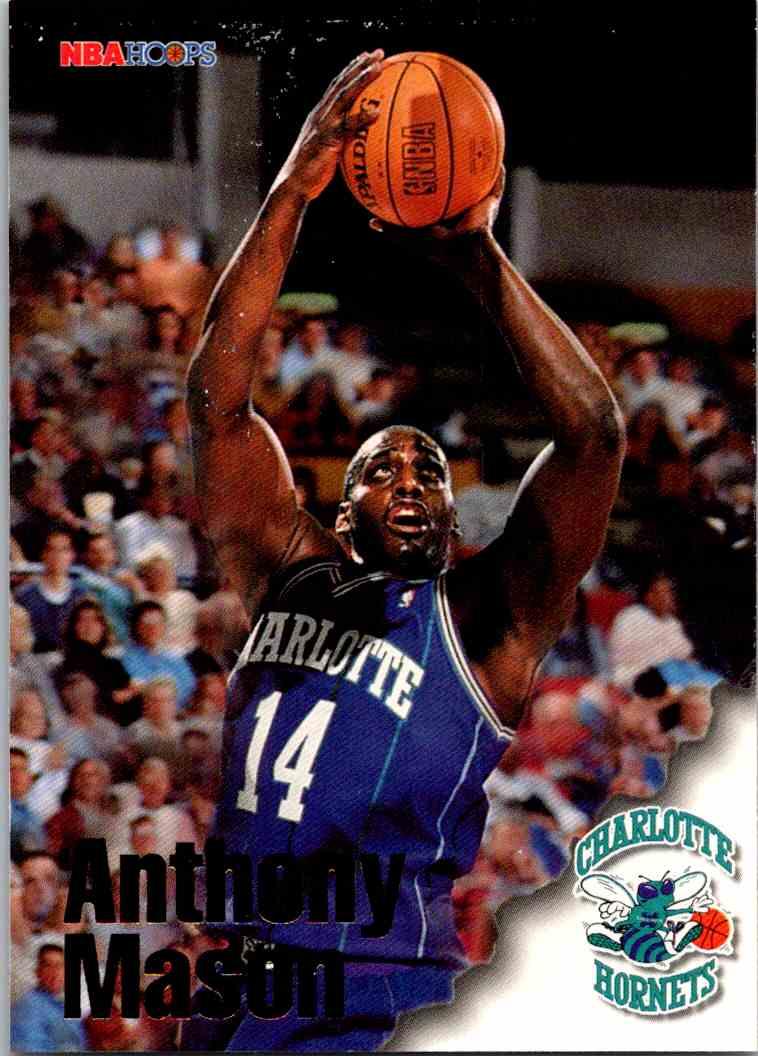 1997-98 NBA Hoops Anthony Mason #205 card front image