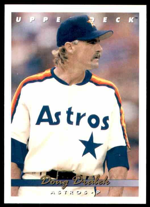 1993 Upper Deck Doug Drabek #664 card front image
