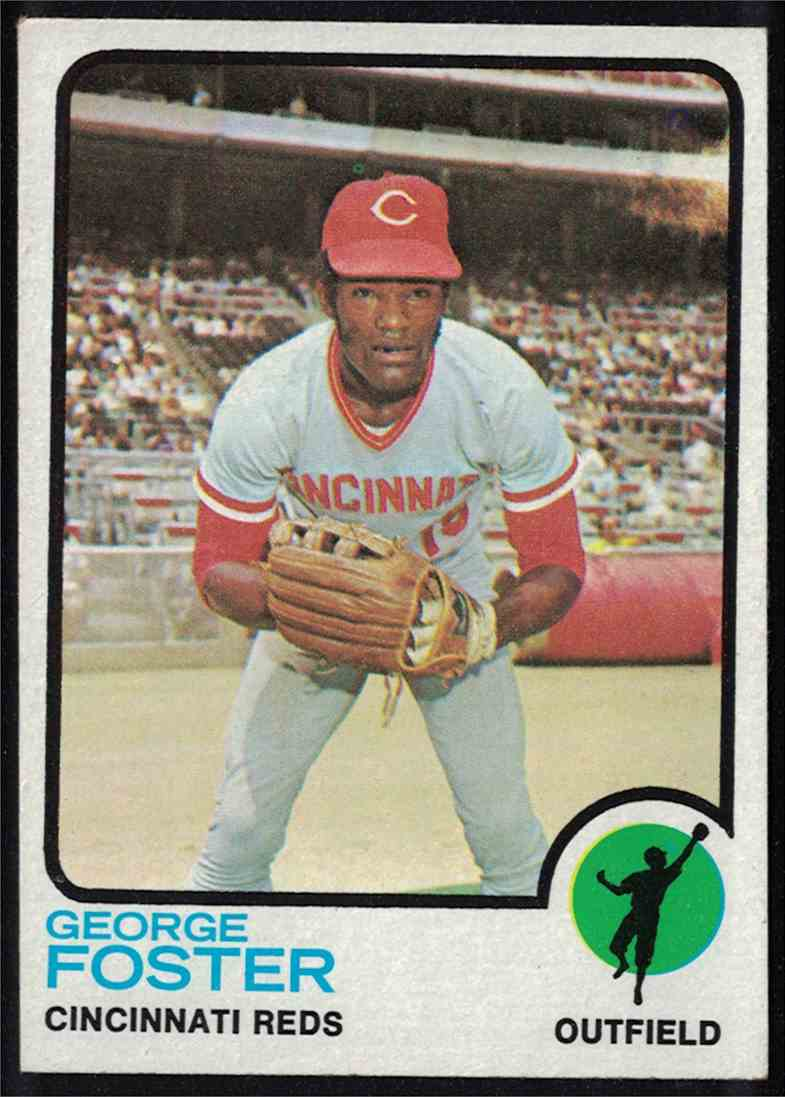 1973 Topps George Foster NM #399 card front image