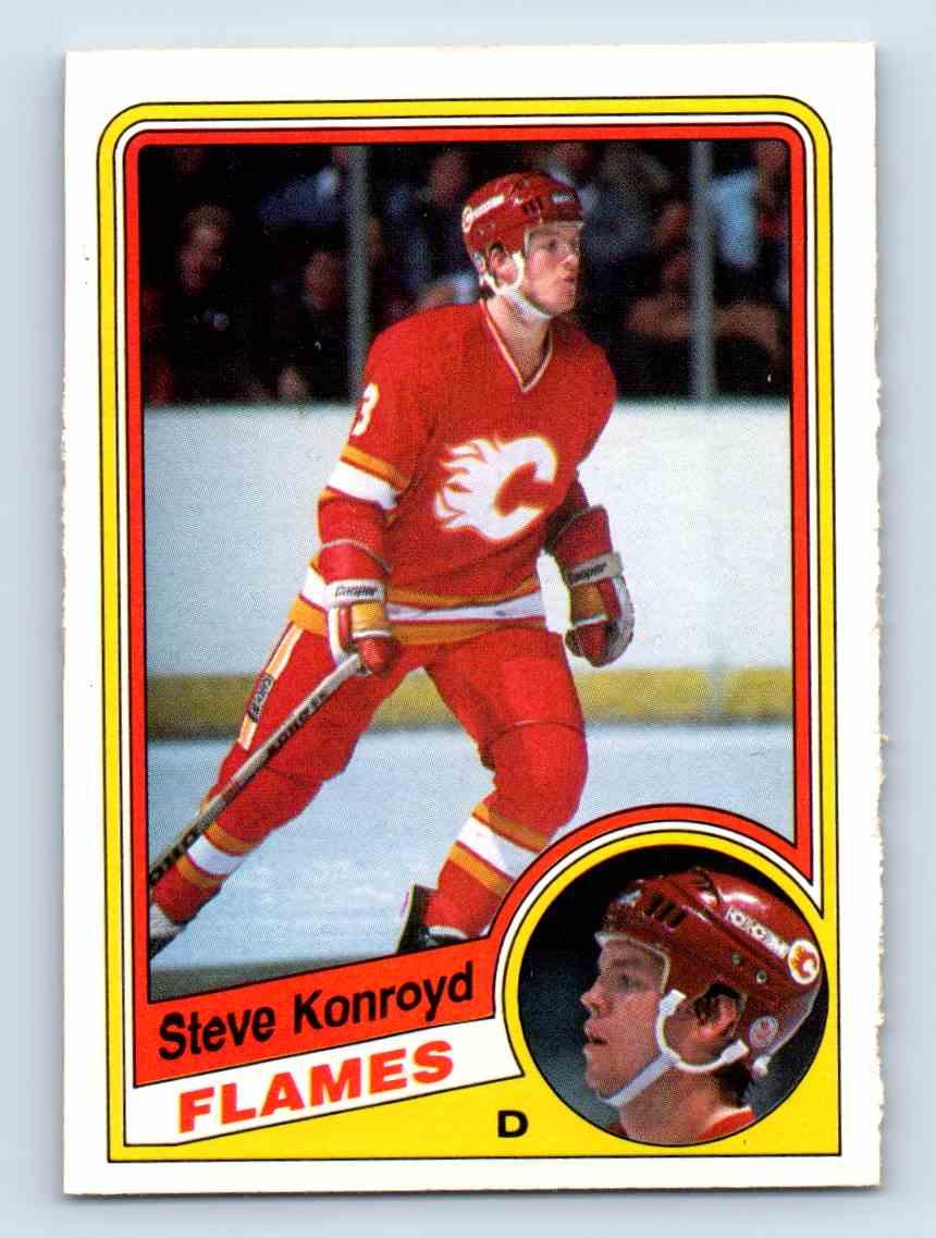 1984-85 O-Pee-Chee * Steve Konroyd #226 card front image