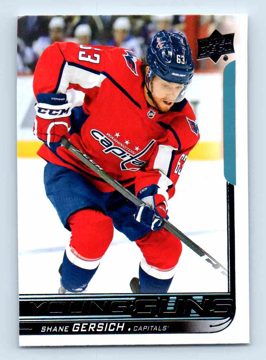 2018-19 Upper Deck Young Guns Shane Gersich #209 card front image