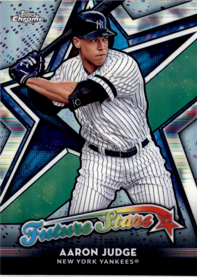 2018 Topps Chrome Future Stars Aaron Judge #FS-1 card front image