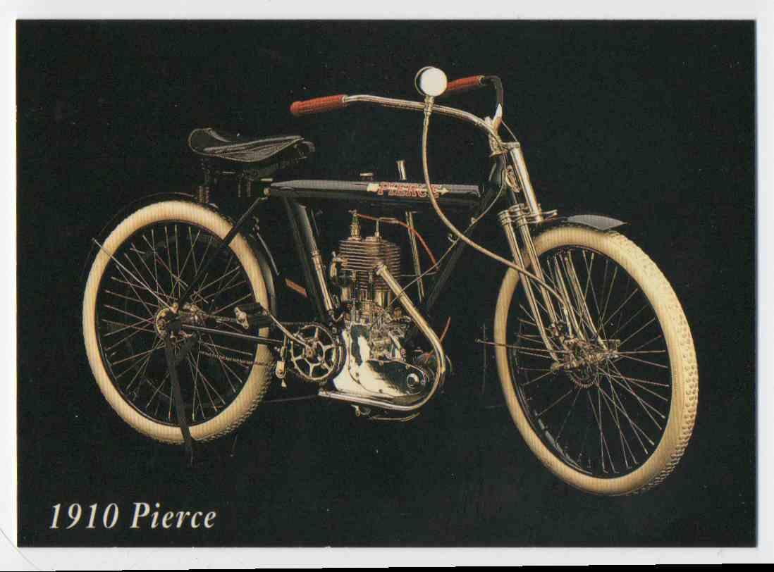 1993 InLine 1910 Pierce #36 card front image