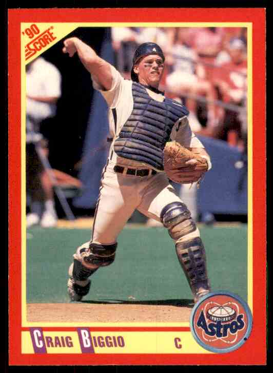 1990 Score Craig Biggio #275 card front image