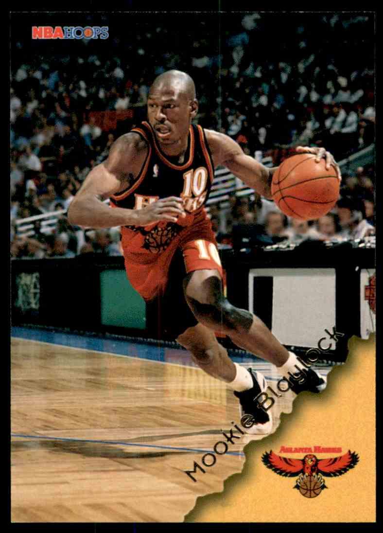 1996-97 Hoops Mookie Blaylock #2 card front image