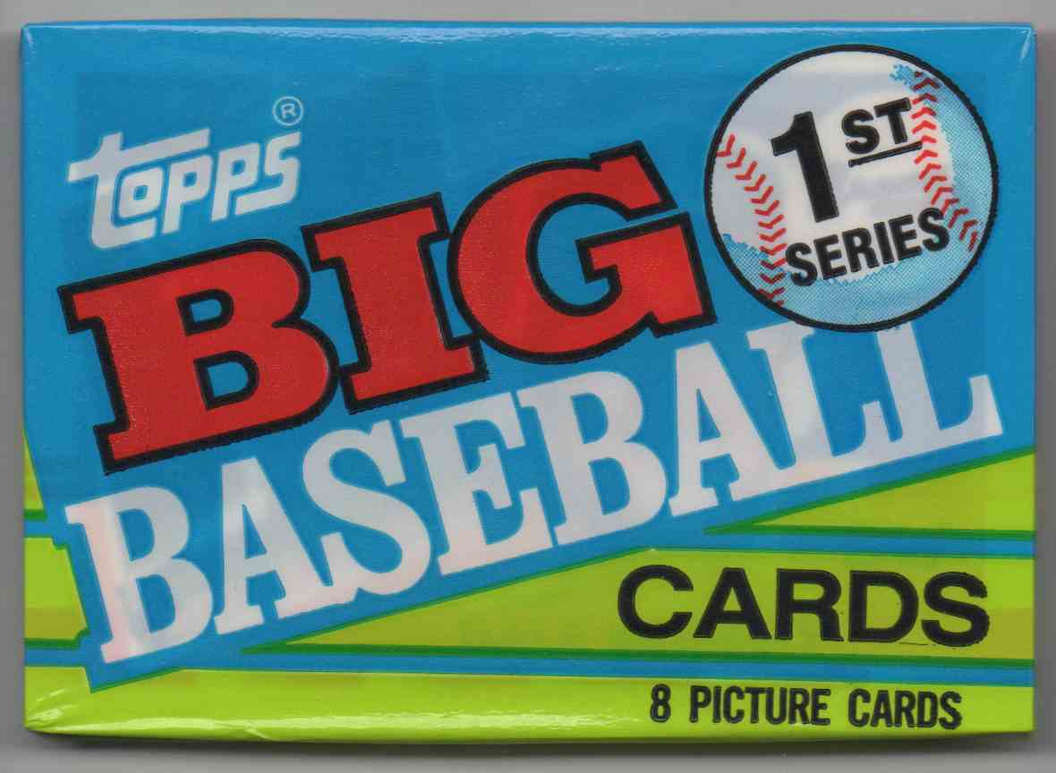 1990 Topps Big Series 1 Unopened Pack #8 card front image