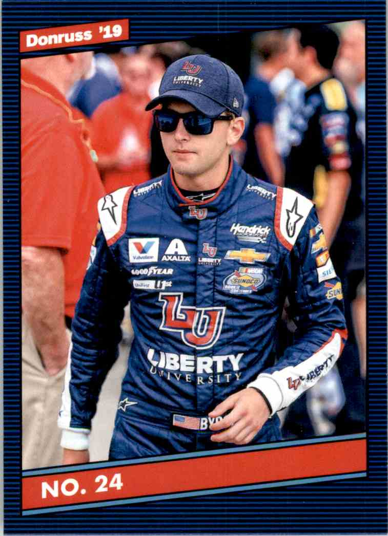 2019 Donruss William Byron #128 card front image